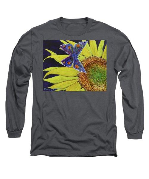 Butterfly Haven Long Sleeve T-Shirt by David Joyner