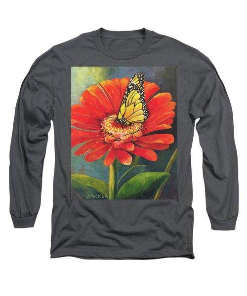 Butterfly Rest Long Sleeve T-Shirt