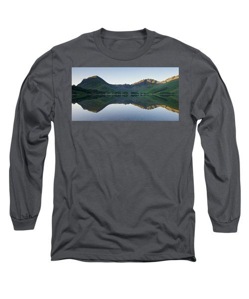 Buttermere Reflections Long Sleeve T-Shirt by Stephen Taylor