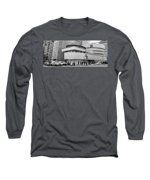 Bw Guggenheim Museum Nyc  Long Sleeve T-Shirt