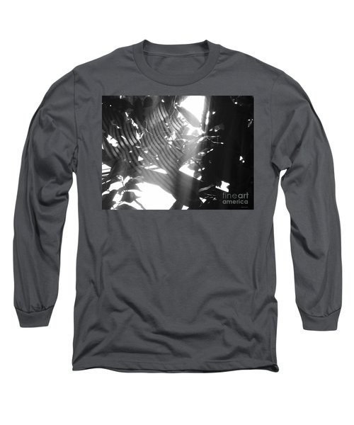Long Sleeve T-Shirt featuring the photograph Bw Radiance by Megan Dirsa-DuBois