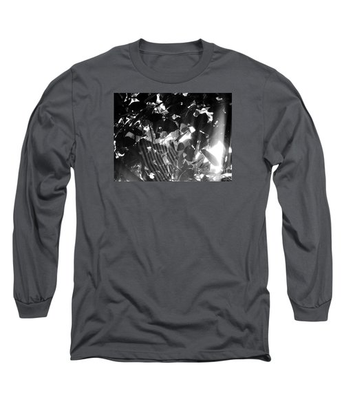 Long Sleeve T-Shirt featuring the photograph Bw Spider Phenomena by Megan Dirsa-DuBois