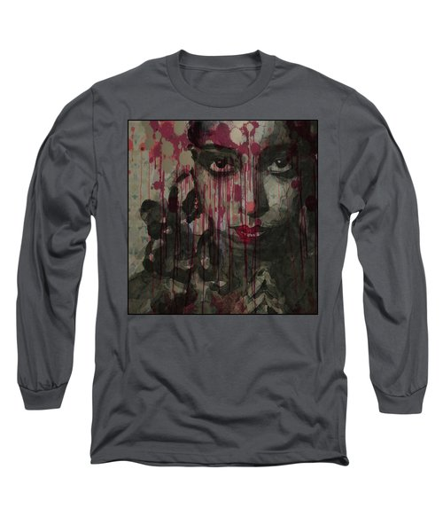 Long Sleeve T-Shirt featuring the painting Bye Bye Blackbird by Paul Lovering