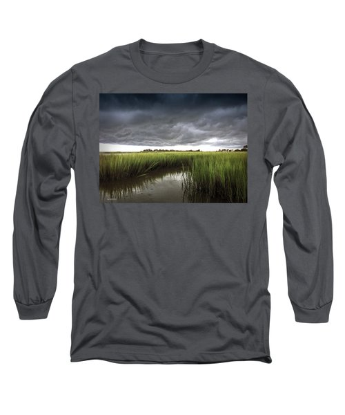 Cabbage Inlet Cold Front Long Sleeve T-Shirt by Phil Mancuso