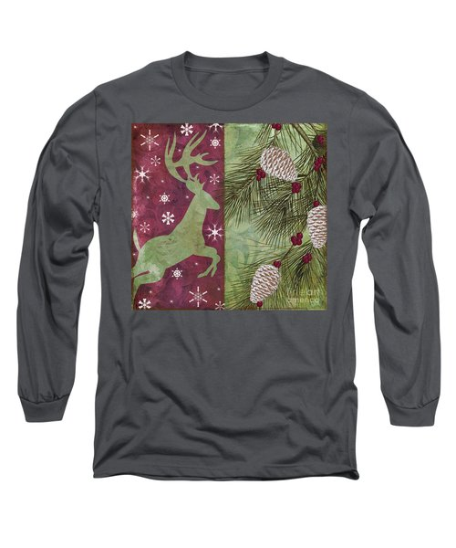 Cabin Christmas II Long Sleeve T-Shirt