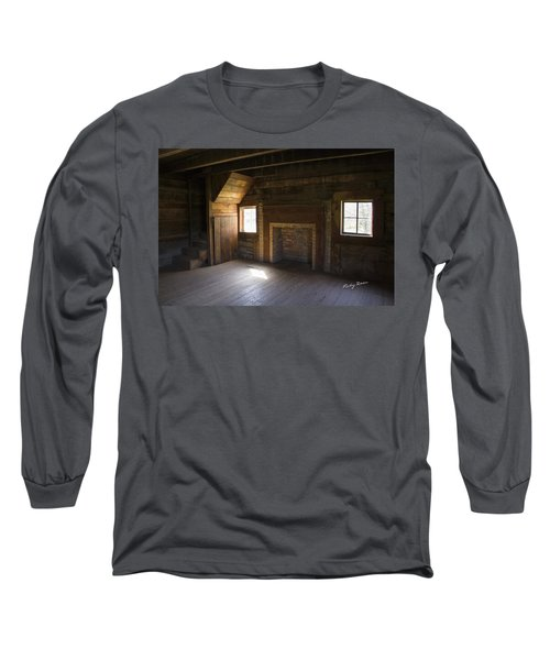 Cabin Home Long Sleeve T-Shirt by Ricky Dean