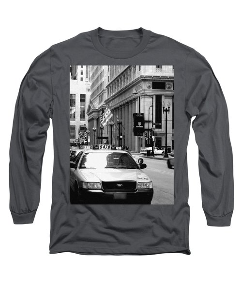 Cabs In The City Long Sleeve T-Shirt