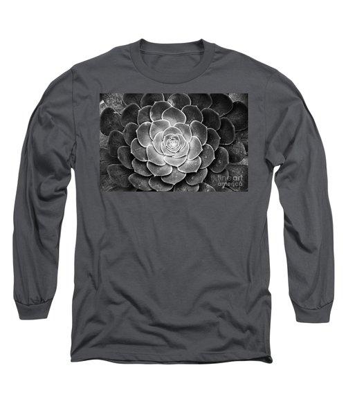 Cactus 18 Deep Bw Long Sleeve T-Shirt