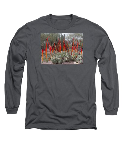 Cactus And Glass Long Sleeve T-Shirt