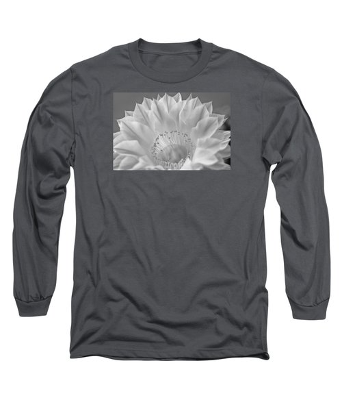 Cactus Bloom Burst Long Sleeve T-Shirt by Shelly Gunderson