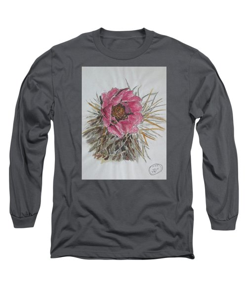 Cactus Joy Long Sleeve T-Shirt by Sharyn Winters