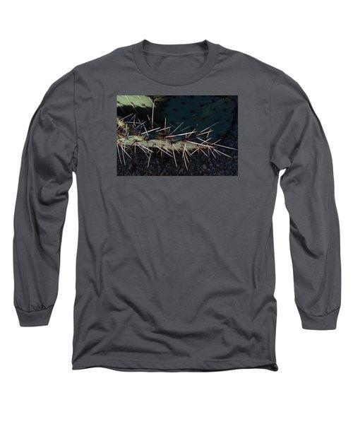 Cactus San Tan 10 Long Sleeve T-Shirt by Carolina Liechtenstein