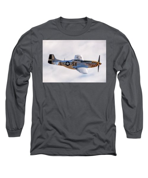 Cadillac Of The Sky  Long Sleeve T-Shirt by Jeff Cook