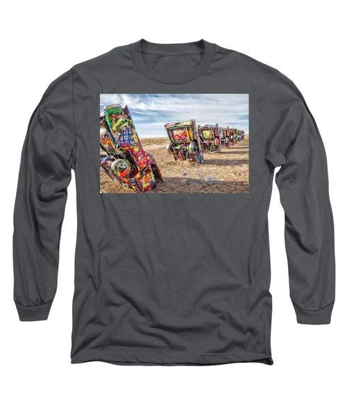 Cadillac Ranch 1 Long Sleeve T-Shirt