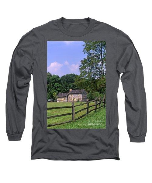 1e140 Caesar Creek Pioneer Village Photo Long Sleeve T-Shirt