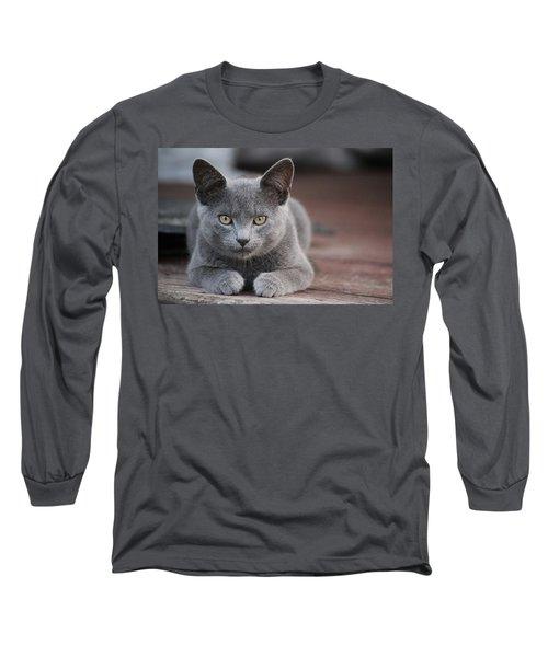 Caesar Long Sleeve T-Shirt by Rowana Ray