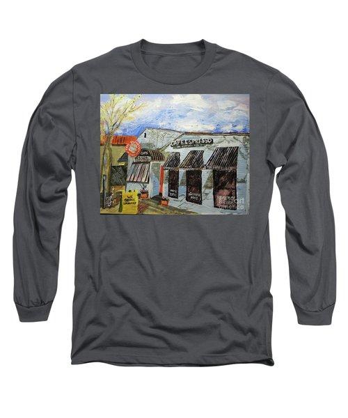 Cafe Espresso Long Sleeve T-Shirt