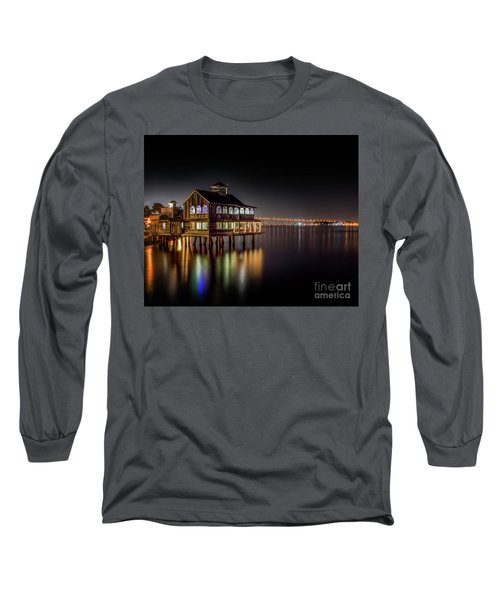 Cafe On The Port Long Sleeve T-Shirt