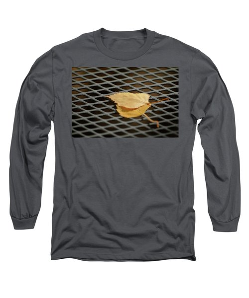 Caged Leaf Long Sleeve T-Shirt