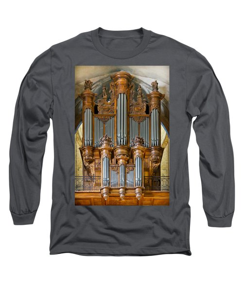 Cahors Cathedral Organ Long Sleeve T-Shirt