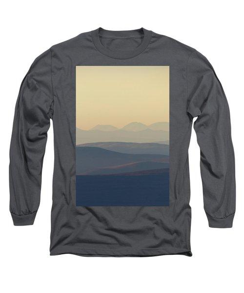 Cairngorms Sunset Long Sleeve T-Shirt
