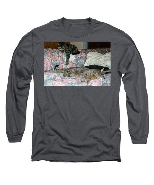 Long Sleeve T-Shirt featuring the photograph Cal-4 by Ellen Lentsch