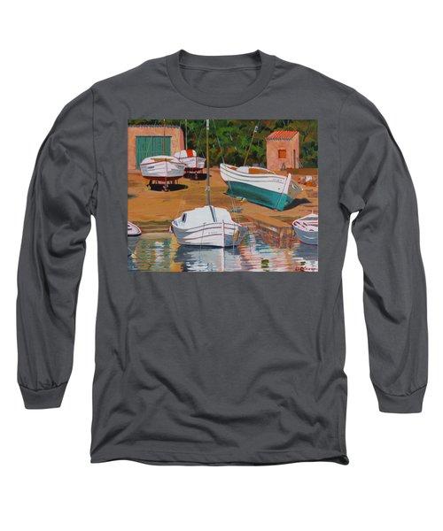 Cala Figuera Boatyard - II Long Sleeve T-Shirt