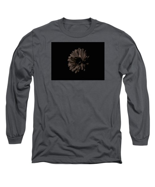 Calendula In Shadows Long Sleeve T-Shirt by Tim Good