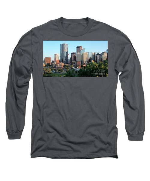 Calgary 2 Long Sleeve T-Shirt by Victor K