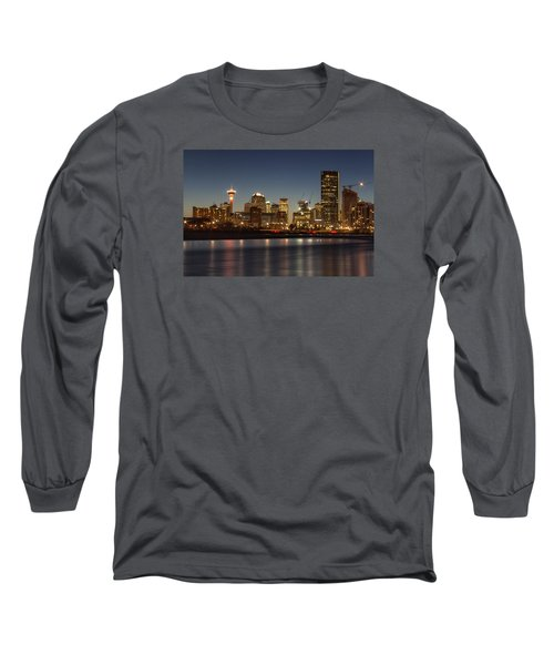 Calgary Lights Long Sleeve T-Shirt