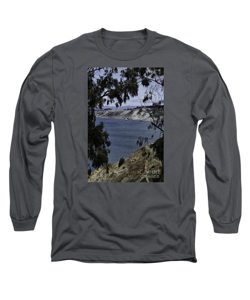 Long Sleeve T-Shirt featuring the photograph Cali Shore by Judy Wolinsky