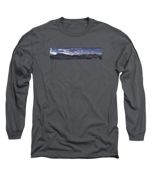 Calico Basin Panorama Long Sleeve T-Shirt