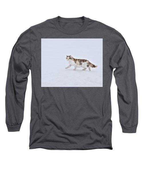 Calico Huntress Long Sleeve T-Shirt