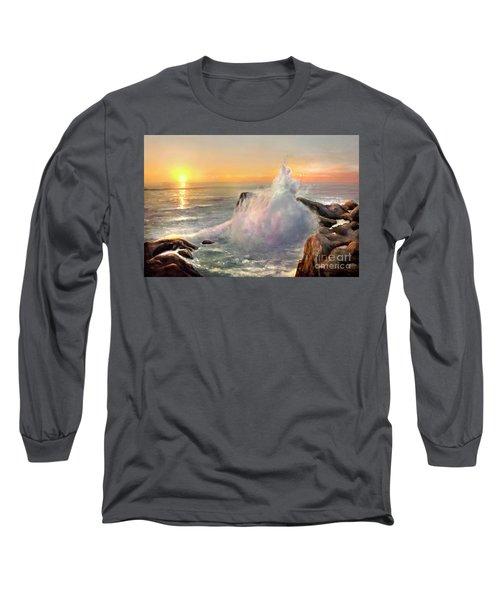 California Coast Long Sleeve T-Shirt by Michael Rock