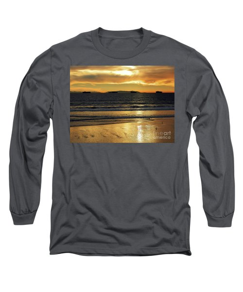 Long Sleeve T-Shirt featuring the photograph California Gold by Everette McMahan jr