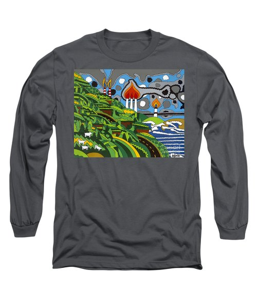 California Highway 1 Long Sleeve T-Shirt