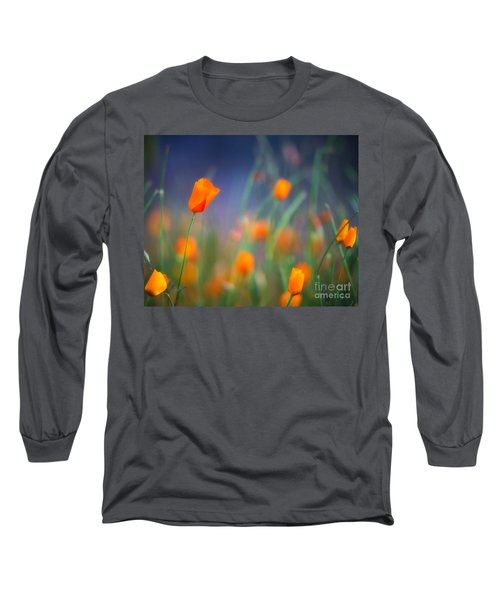 California Poppies 2 Long Sleeve T-Shirt