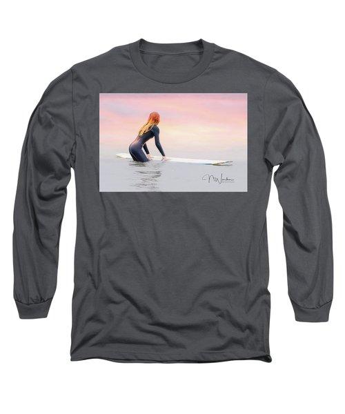 California Surfer Girl I Long Sleeve T-Shirt