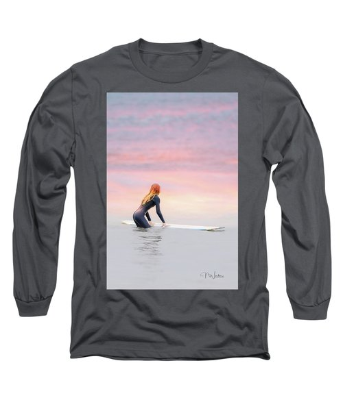 California Surfer Girl II Long Sleeve T-Shirt