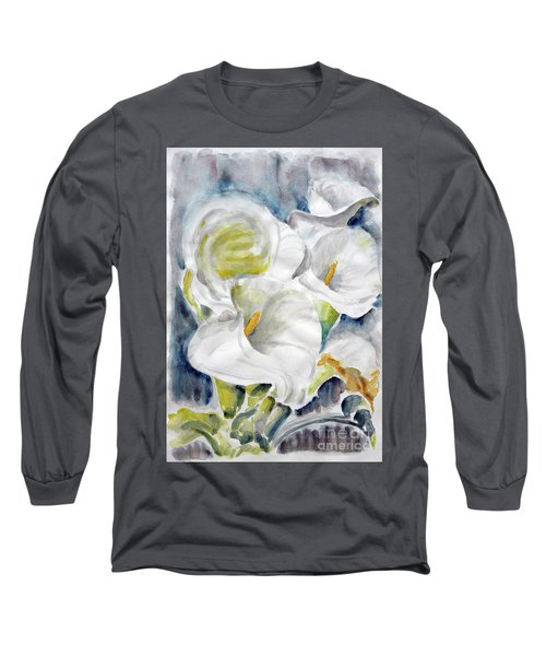 Calla Long Sleeve T-Shirt by Jasna Dragun