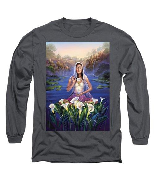 Calla Lily - Be Still Long Sleeve T-Shirt