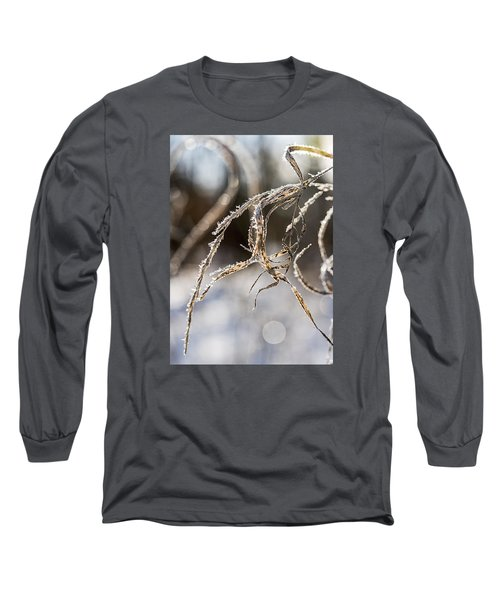 Long Sleeve T-Shirt featuring the photograph Calligraphy In The Grass by Annette Berglund