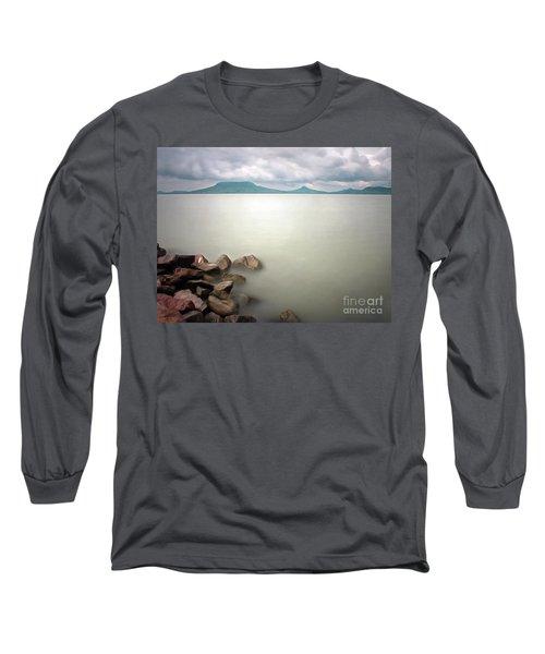 Calm At The Lake Long Sleeve T-Shirt