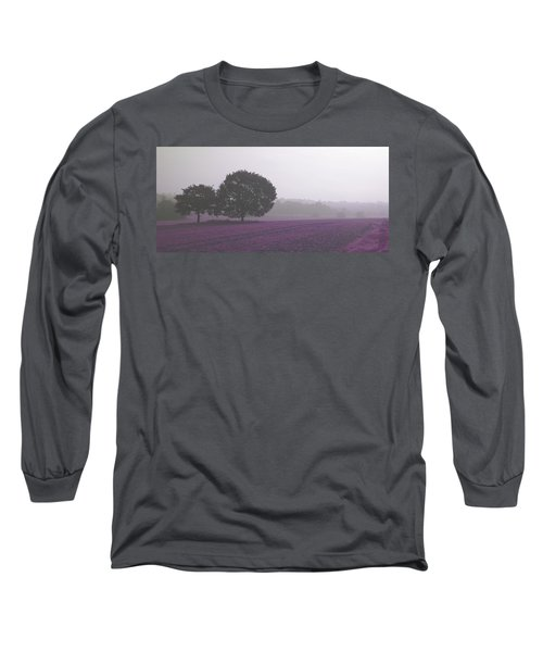 Calm Autumn Mist Long Sleeve T-Shirt