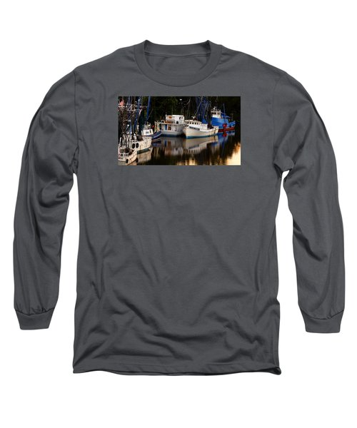 Long Sleeve T-Shirt featuring the photograph Calm Waters by Laura Ragland