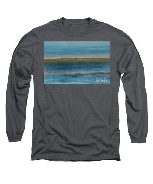 Calming Blue Long Sleeve T-Shirt