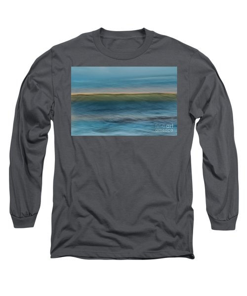 Calming Blue Long Sleeve T-Shirt