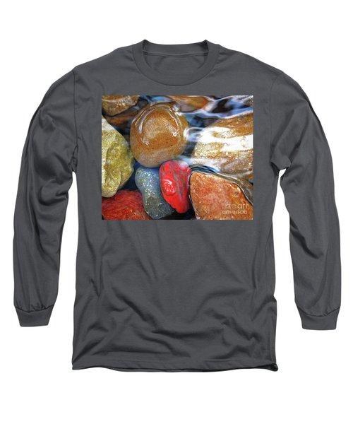 Calming Stones Long Sleeve T-Shirt