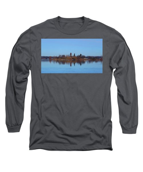 Calumet Island Reflections Long Sleeve T-Shirt