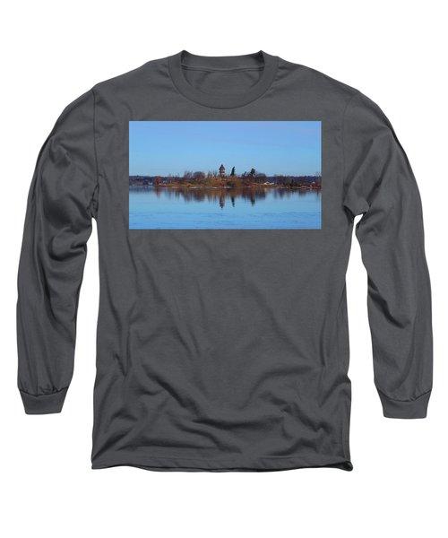 Calumet Island Reflections Long Sleeve T-Shirt